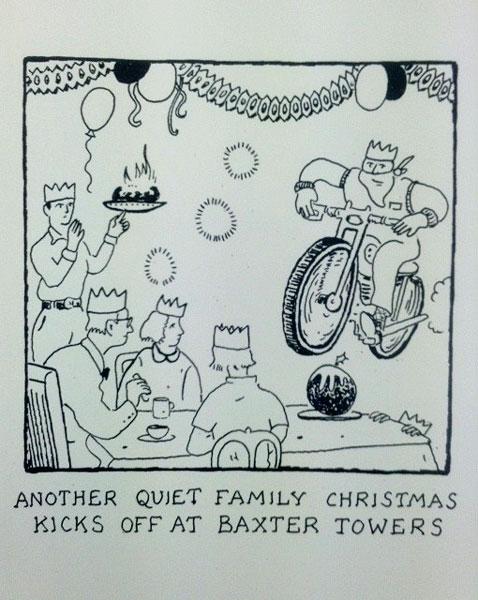 Glen Baxter Bike