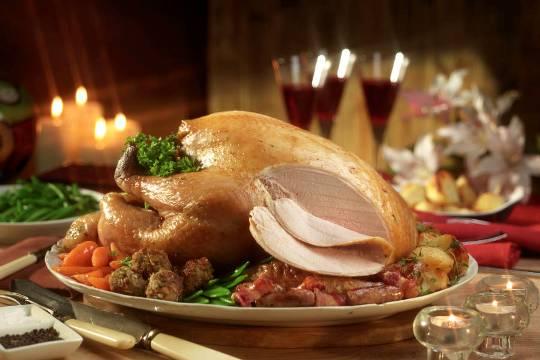 Norfolk Bronze Turkey