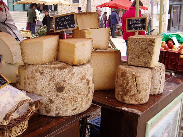 Fromage at Thiviers Market