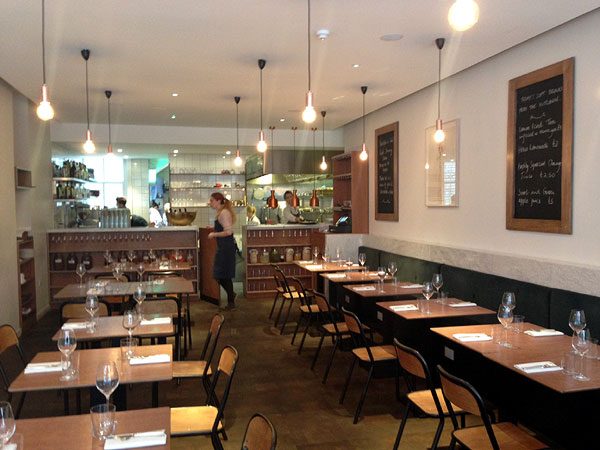 Portland Restaurant - interior