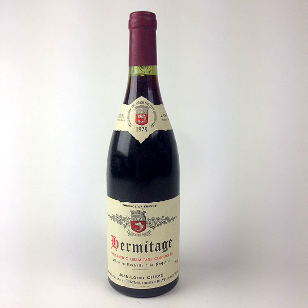 Hermitage: Domaine Jean-Louis Chave 1978