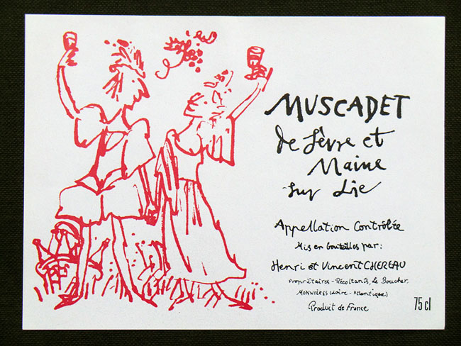 Quentin Blake - Yapp Brothers Muscadet Label