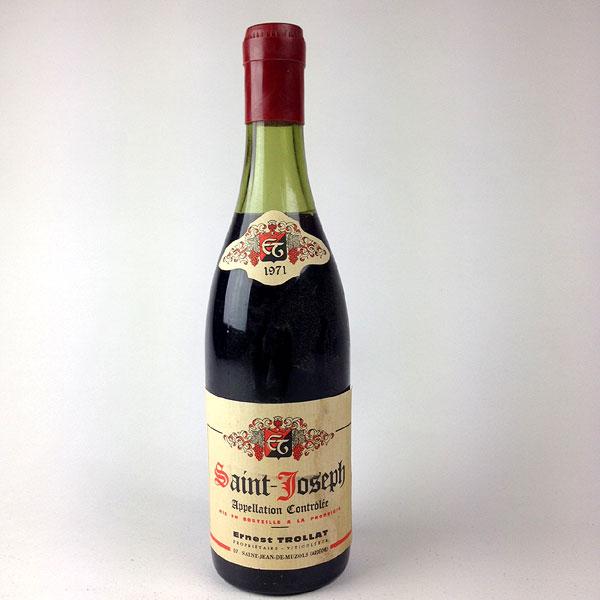 Saint-Joseph: Ernest Trollat 1971