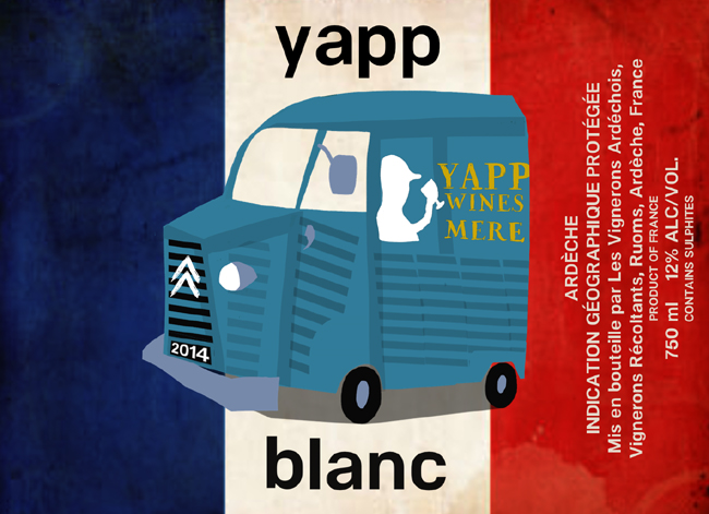 Yapp Own Label WInes - Final design