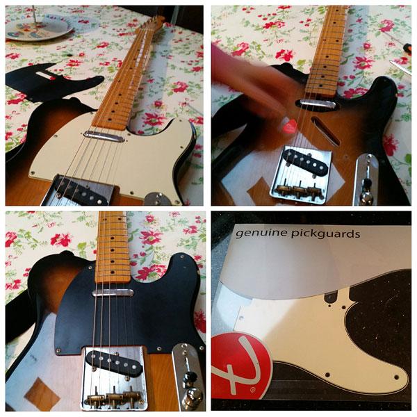 Fender pick guards