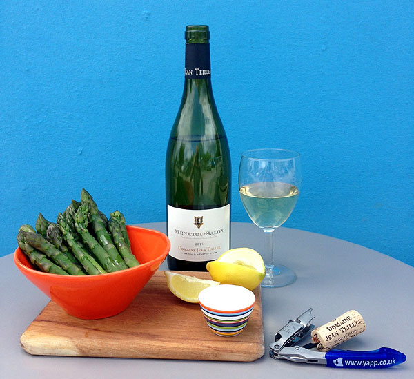 Wines to go with asparagus