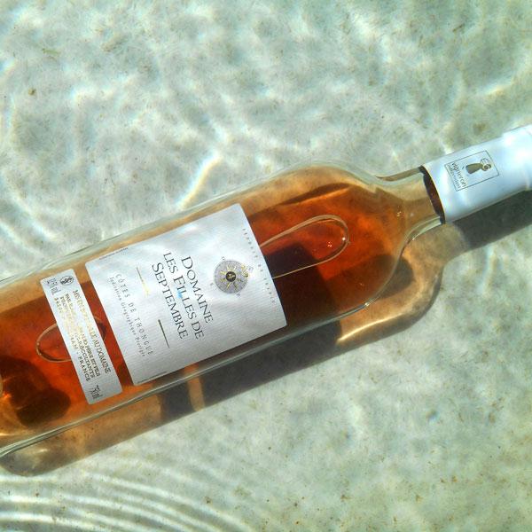 Cotes de Thongue - Domaine Les Filles de Septembre Rose chilled