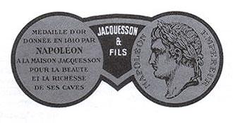 Medaille  d'Or - Napoleon Bonaparte - Champagne Jacquesson Fils