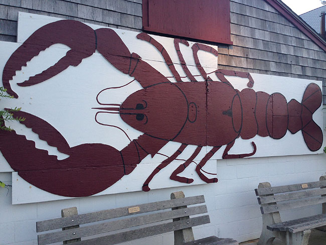 Woodman's of Essex lobster sign