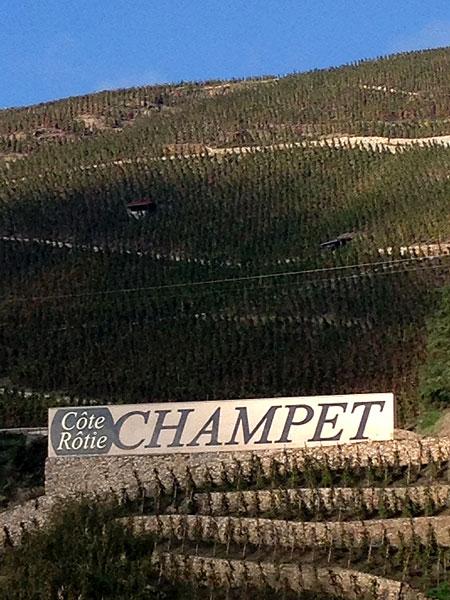 Côte-Rôtie - Domaine Champet