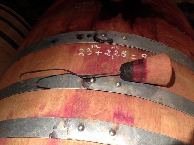 Rhone 2014 Tasting Barrel