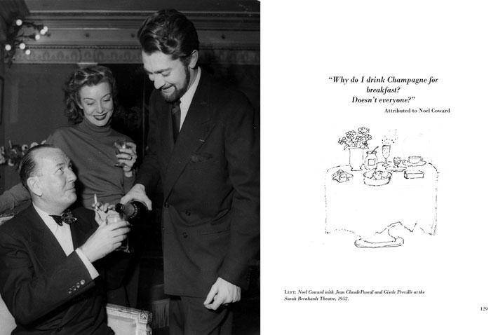 Noel Coward - champagne quote