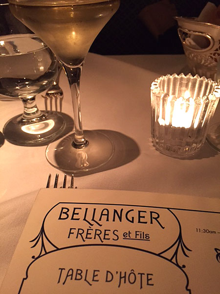 Bellanger restaurant
