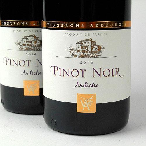 Coteaux de l'Ardèche: Cépage Pinot Noir 2014