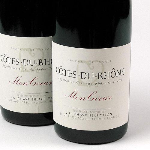 Cotes du Rhone - Mon Coeur - Jean-Louis Chave - Selection