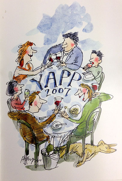 Merrily Harpur - Yapp Brothers wine list 2007