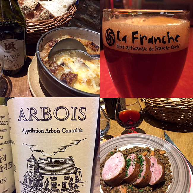 Jura - wine - food - beer