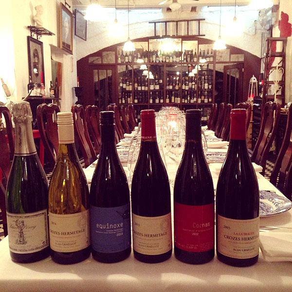 Ottos Restaurant - Graillot Rhone wines