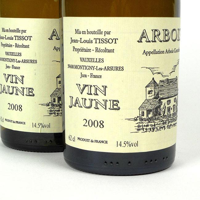 Jura Arbois Vin Jaune Domaine Jean-Louis Tissot 2008