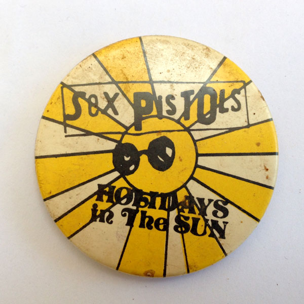 Sex Pistols badge