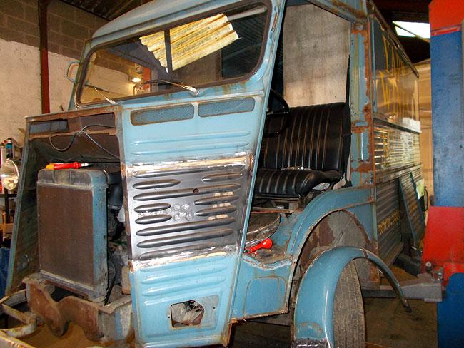 Citroen H-Van Restoration