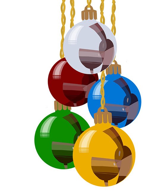 Christmas baubles - David Chandler