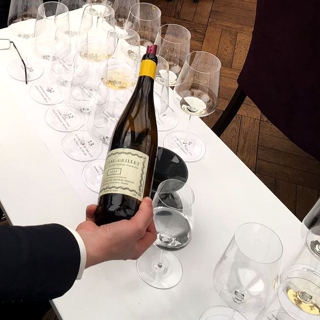 Chateau Grillet Tasting