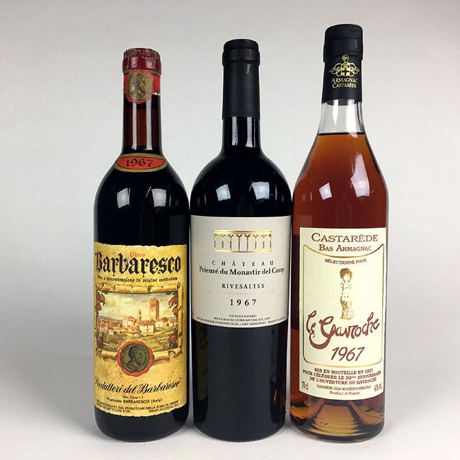Birthday wines
