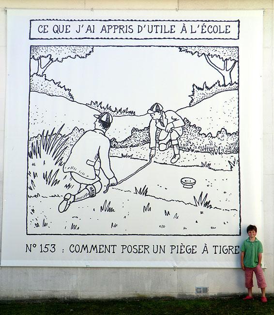 Big Glen Baxter Poster - Poitiers