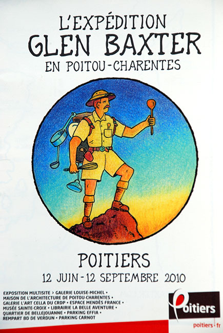Glen Baxter - Poitiers Exhibition