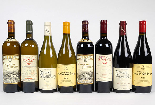 Stars of Southern France wines