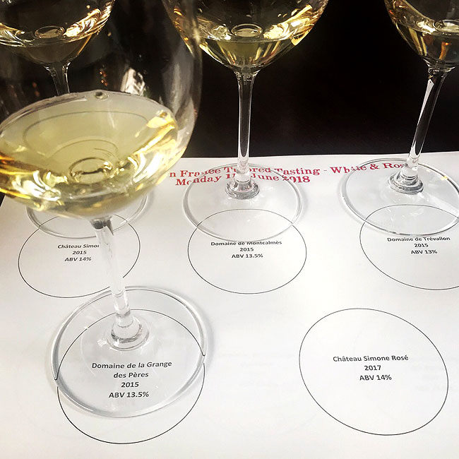 Stars of Southern France Wine Tasting