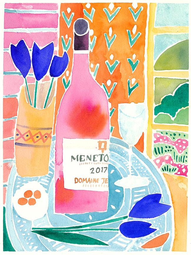 Menetou Salon Rose by David Chandler