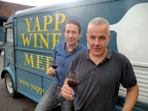 Yapp Brothers Wine Merchants - Directors Tom Ashworth and Jason Yapp