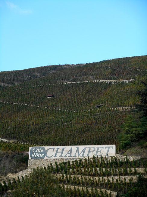 Côte Rôtie - Domaine Champet
