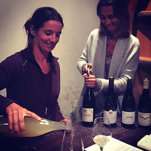 Emilie and Marie-Pierre - Domaine du Père Caboche