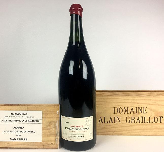 Alain Graillot - Crozes-Hermitage - La Guiraude 1998