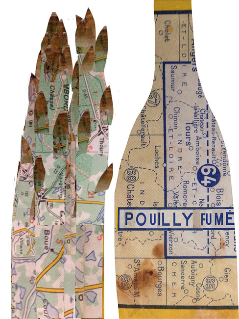 Pouilly-Fumé & asparagus by David Chandler