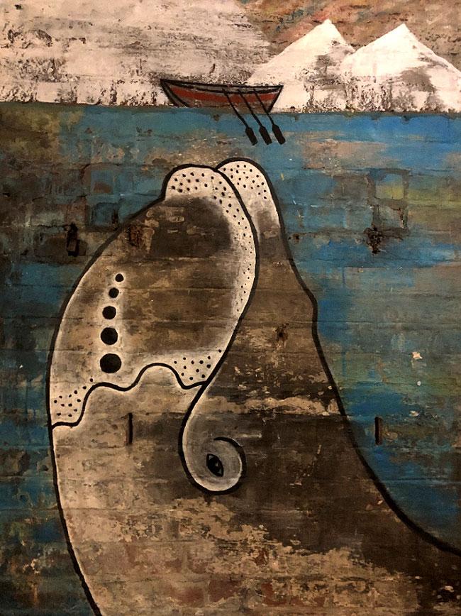 Hull mural