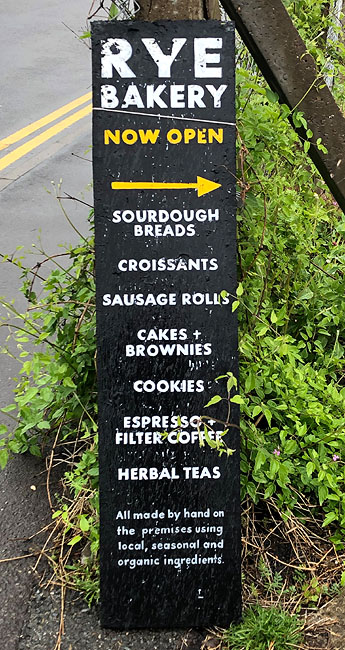 Rye Bakery Sign