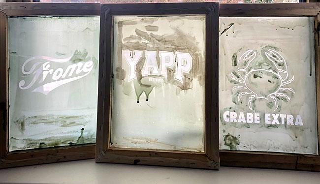 screen print frames