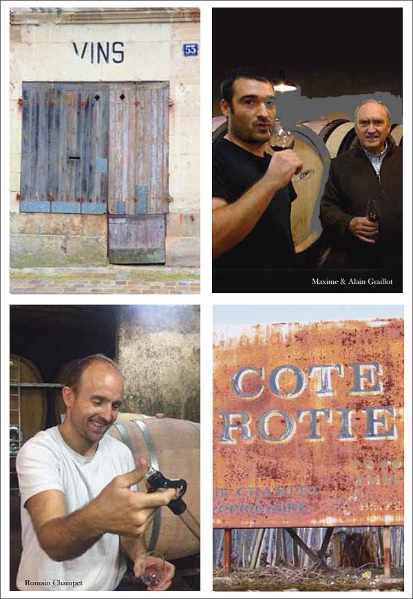 Cote Rotie Champet - Crozes Hermitage Graillot