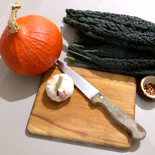pumpkin cavallo nero ingredients