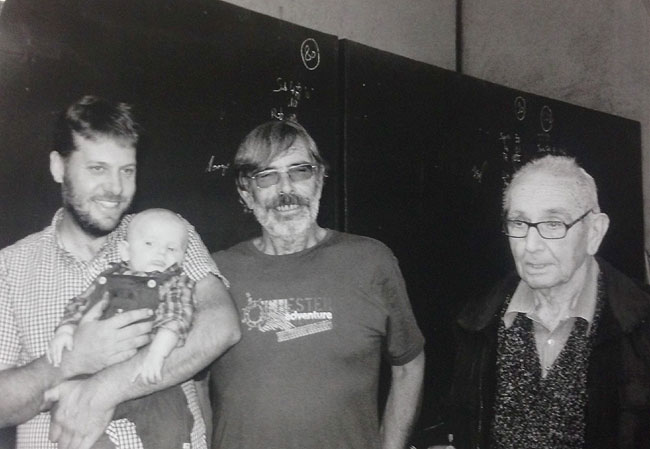 Four generations of the Clape family