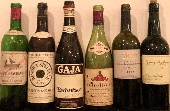 1967 - Birth Year Bottles